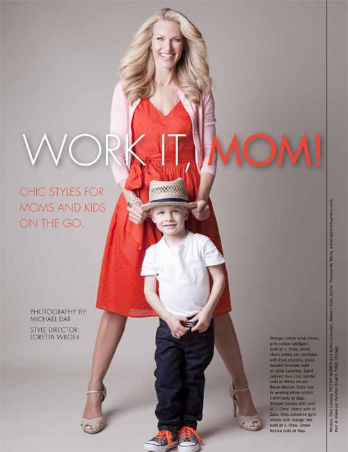 Hot Mom At Work